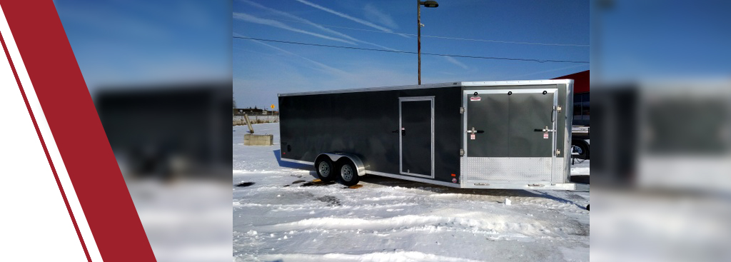 Hauling Your Snowmobile Safely With Custom Made Enclosed Trailers