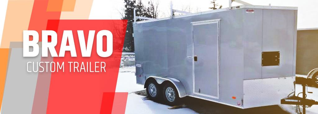 Bravo Custom Enclosed Trailer